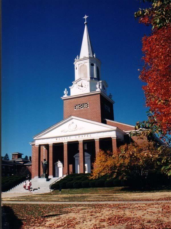 Chapel At West Virginia Wesleyan College Buckhannon WV
