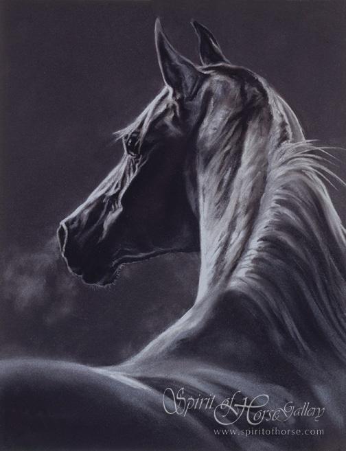 Wow! Gorgeous horse art!