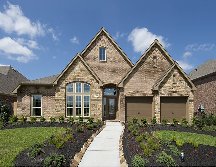 Perry Homes Harmony Model Home Design 2942w Spring Tx