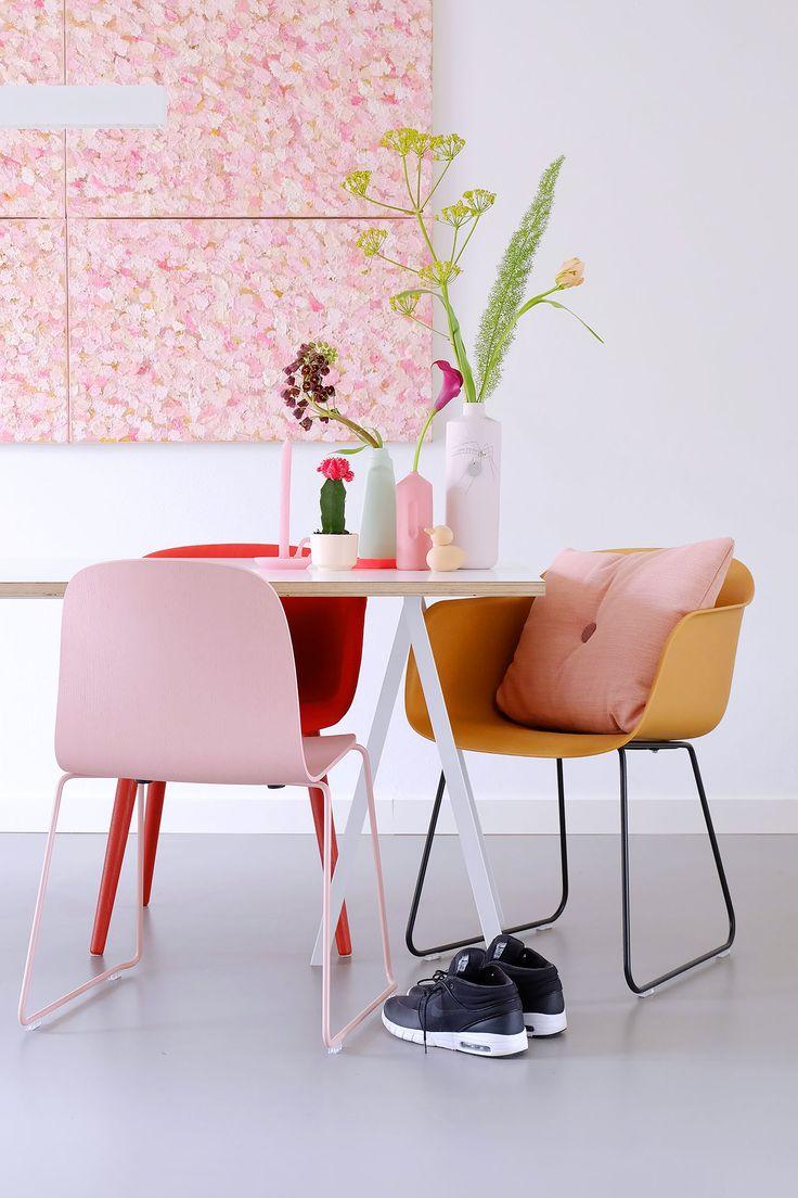 INTERIOR INSPIRATION   Roze in huis   via @vtwonen   tekst, fotografie en styling: Fleur & Jessica