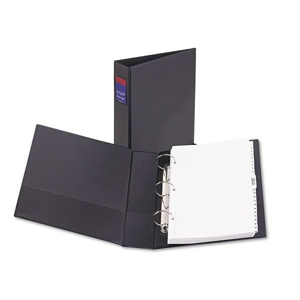Legal Durable Non View Binder With Round Rings 14 X 8 1 2 2 Capacity Black Ring Stores Round Rings Binder