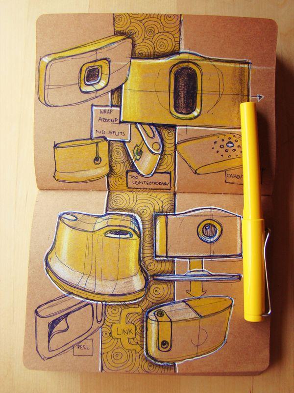 Internship Sketch Book 2012 by Roshan Hakkim, via Behance. #productdesign #industrialdesign #ID #design #sketch #drawing #render #ideation #sketching