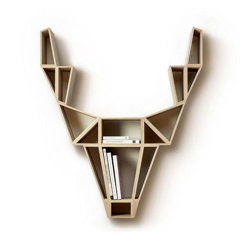 Päivän hienoin tuote ihan kevyesti: Deer Shelf ja tekijä #Logomo Byråsta, Bedesign!