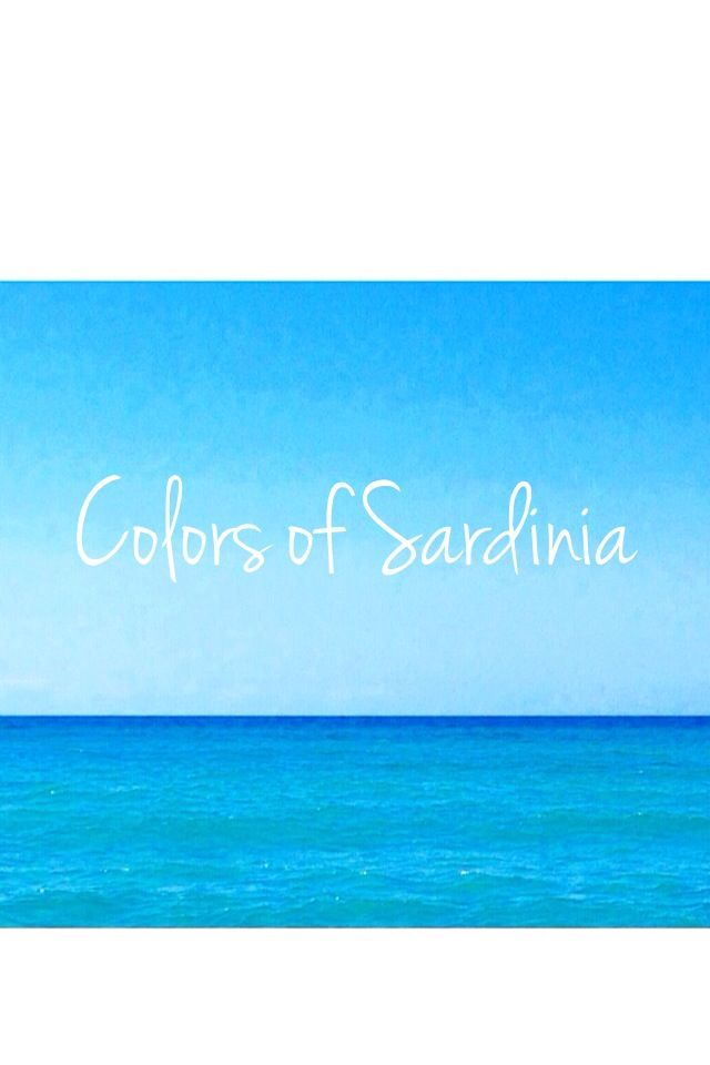Colors of Sardinia