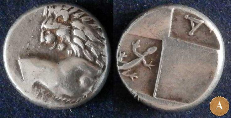 Фракия, Херсонес, 386-338 годы до Р.Х., гемидрахма. | ANDREY PYATYGIN ANCIENT COINS | Магазины | Антикварус