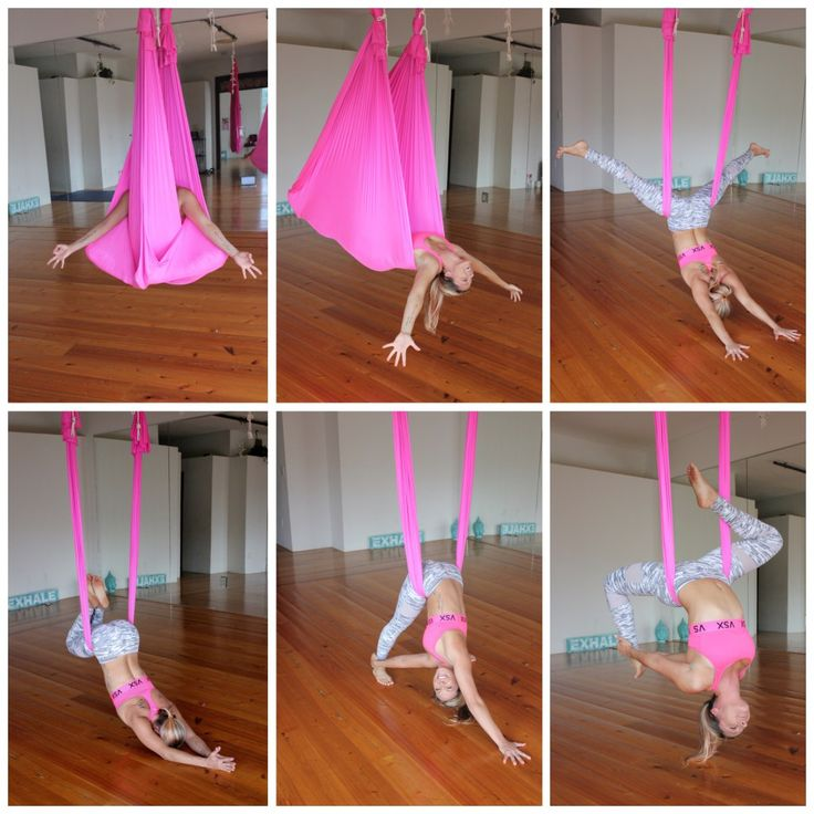 Aerial Yoga Goddess Tutorials