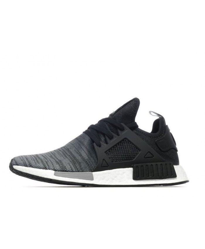 3f356fa07 Adidas Originals NMD XR1 Black White Trainers