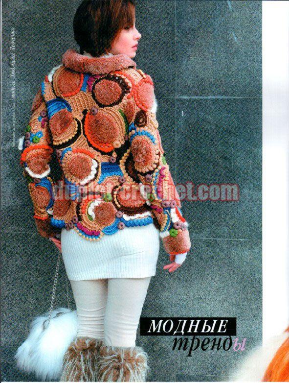 October 2015 Journal Jurnal Zhurnal MOD 591 Russian crochet n knit patterns book