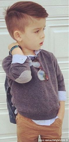 Amazing 1000 Ideas About Toddler Boys Haircuts On Pinterest Cute Hairstyles For Men Maxibearus