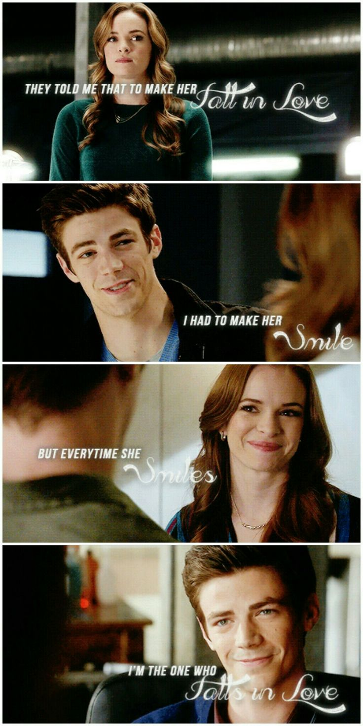 But every time she smiles I am the one who falls in love... Snowbarry The Flash