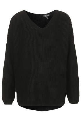 Clean Rib Knitted Sweater
