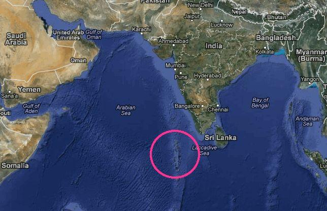 where are the maldives located