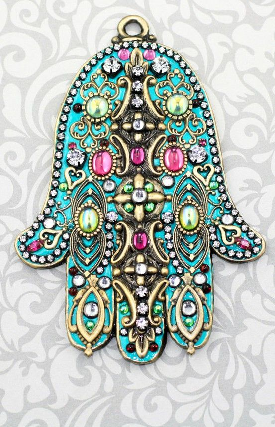 Hamsa, or Hand of Fatima.. what does this symbolise