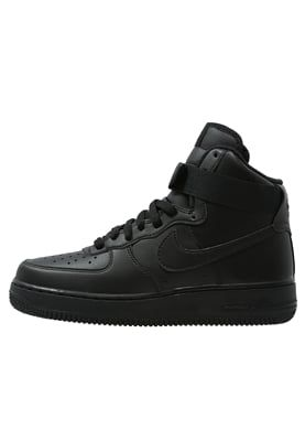 Nike Sportswear AIR FORCE 1 '07 - High-top trainers - black for £60.00 (17/07/16) with free delivery at Zalando