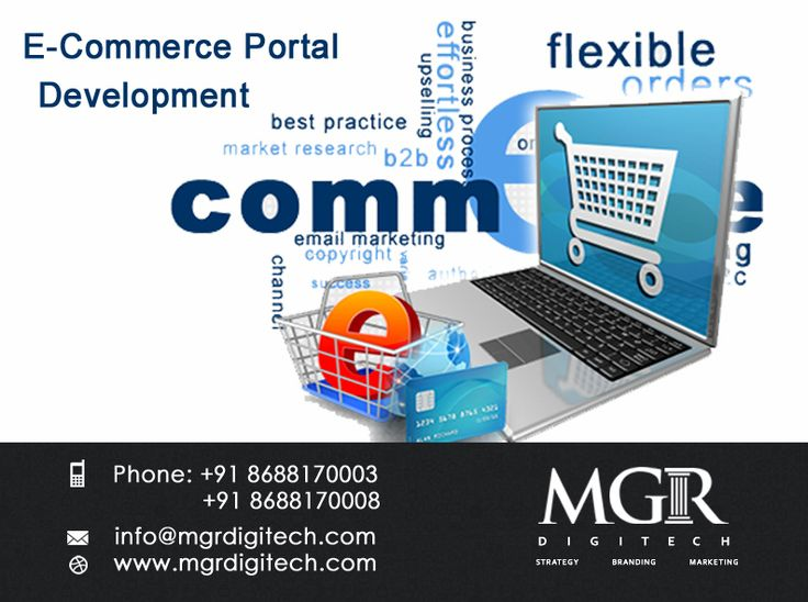 MGR DIGITECH offers e-commerce development Portals to give your business online presence & new heights...  For more details please contact us today: Contact Details: Phone: +91 8688170003, +91 8688170008 Email-Id: info@mgrdigitech.com Website:www.mgrdigitech.com  #MGR, #MGRDigitech, #Digital, #OnlineSales, #DigitalSolutions, #ECommercePortals