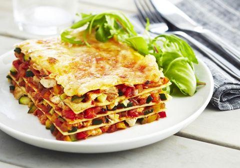 Lasagnes poulet, légumes du soleil et mozzarella | Croquons La Vie - Nestlé