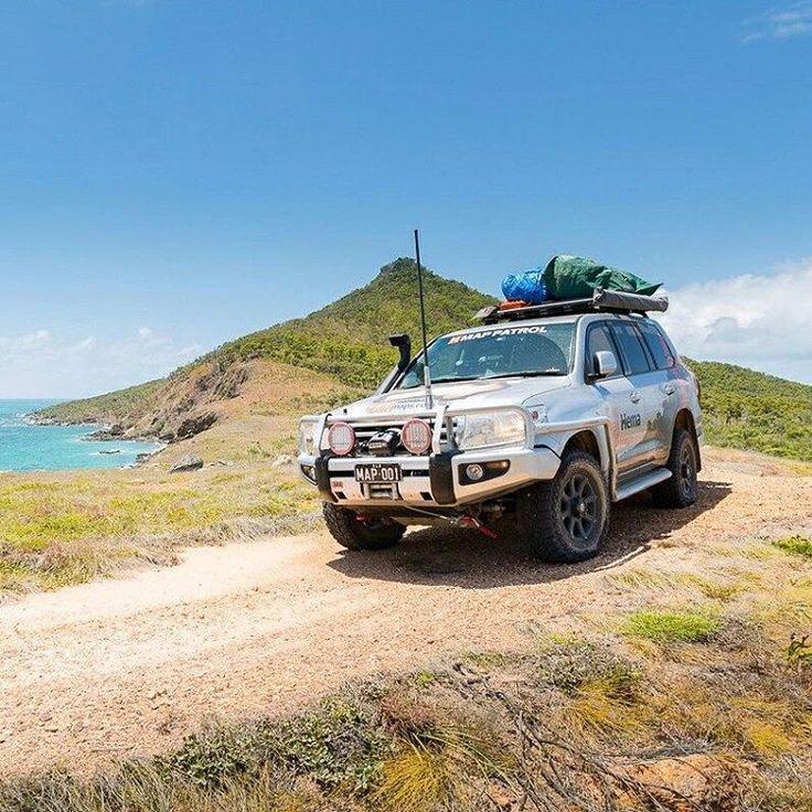 Enjoying the view from Cape Bedford, Cape York #capeyork #capebedford #hemamaps #australia #seeaustralia #outback #outbackaustralia #offroad #offroading #overland #overlanding #4wd #4x4 #4x4life #4wheeling #landcruiser #lc200 #landcruiser200 #toyota4x4
