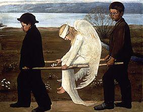 Hugo Simberg - Haavoittunut enkeli 1903