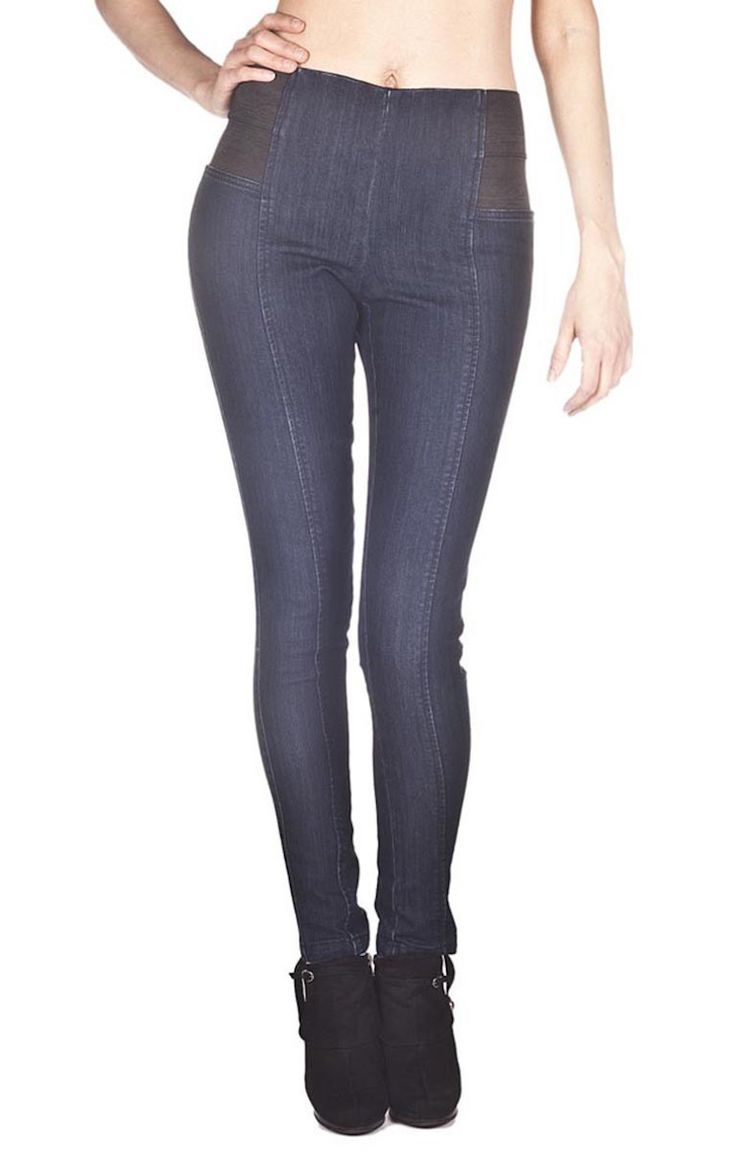 Foxy Jeans Pull on Jeggings with side elastic detail - Frendz & Co.  - 1