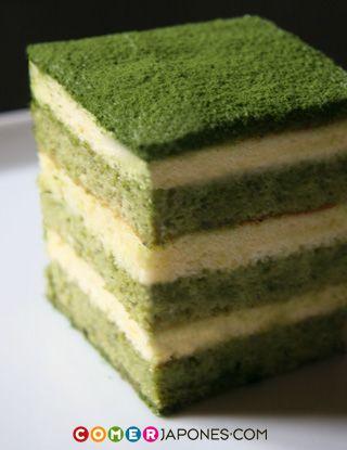 comerJapones.com — Si os gusta el té verde y el tiramisú, os encantará el tiramisú de Matcha