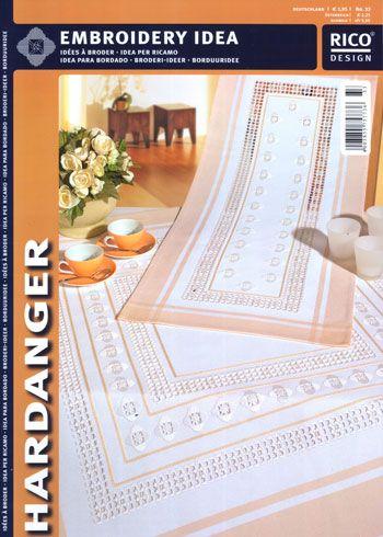 hardanger designers | Rico Design: Idee creative n° 33 (Hardanger) - Rico Design - Esquemas ...
