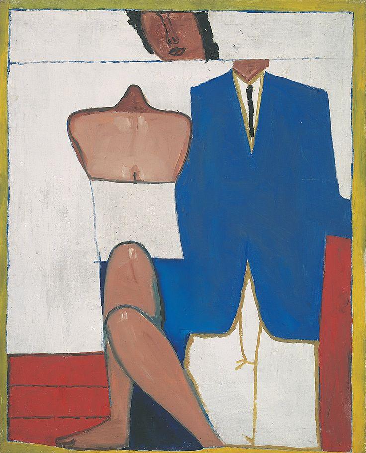Jerzy Nowosielski - Portret ślubny, 1958