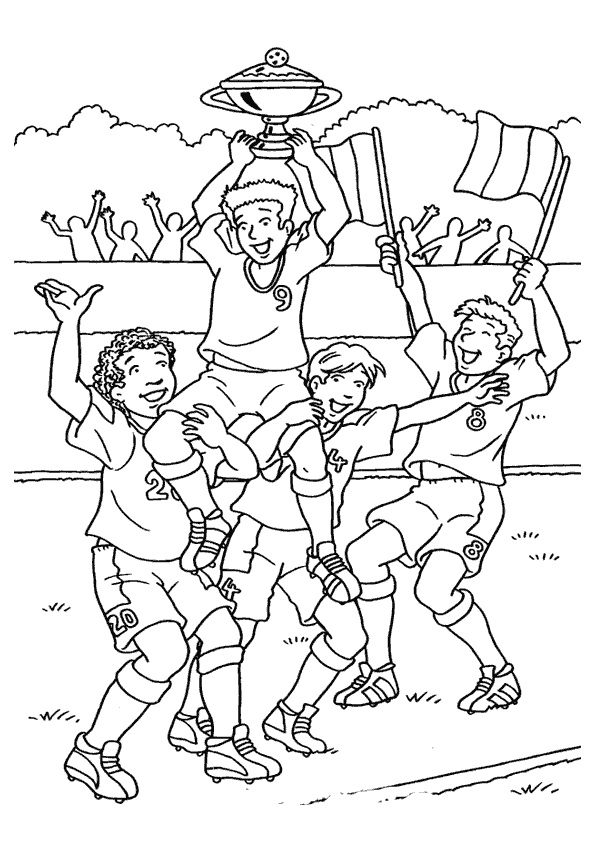 coloring sports