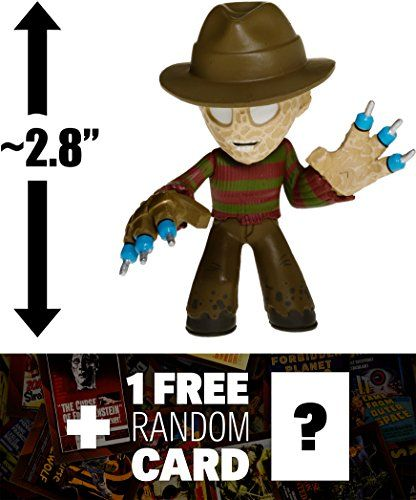 Freddy Krueger A Nightmare on Elm Street 28 Horror Classics x Funko Mystery Minis Vinyl MiniFigure Series 3  1 FREE Horror Movie Trading Card Bundle VERY RARE 108447 * More info could be found at the image url.