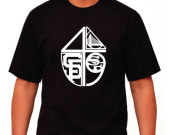 Custom san francisco bay area sports team mashup t shirt for San francisco custom shirts