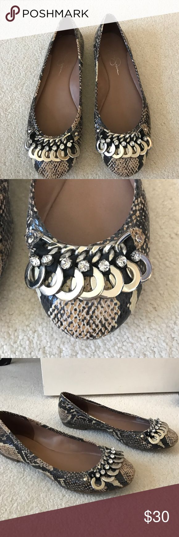 Jessica Simpson Flats Perfect condition!!!! Jessica Simpson flats Jessica Simpson Shoes Flats & Loafers