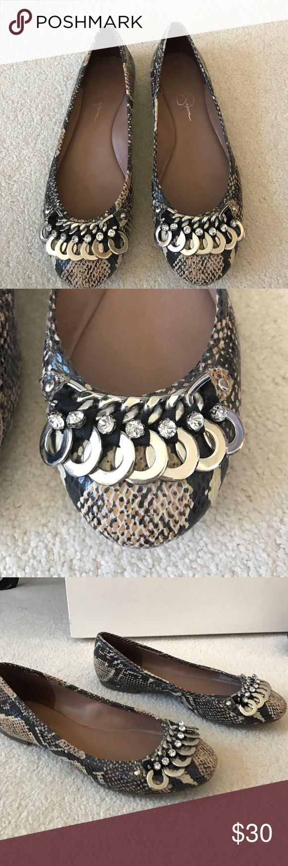Jessica Simpson Flats Perfect condition!!!! Jessica Simpson flats Jessica Simpson Shoes Flats & Loafers