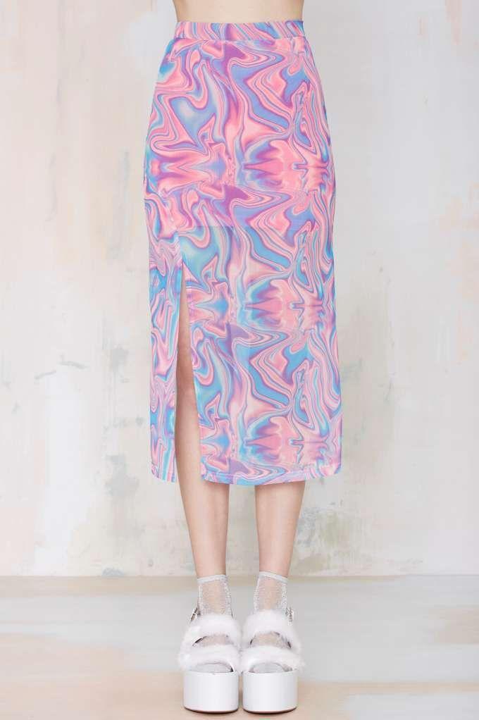 UNIF Verse Midi Skirt - Skirts   Sets   Unif   Newly Added      Skirts