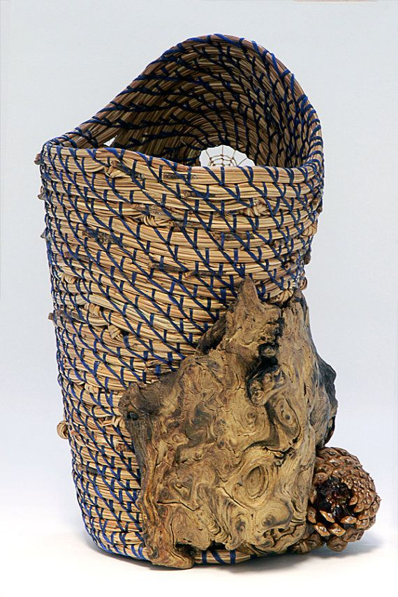 Art Of Basket Making : Best images about pinestraw weaving on vase