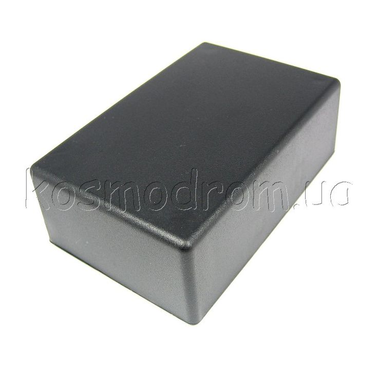 Нажми на картинку, чтобы увеличить ее    Фото может отличаться от реального вида предмета, но это не влияет на основные характеристики изделия  Корпус GAINTA  G1020B  Пластиковый корпус черного цвета, из высокопрочного ABS пластика UL-94HB. Размеры: 54х83х30мм. На внутренней поверхности корпуса отлиты стойки для горизонтального и направляющие для вертикального разм