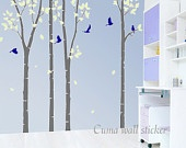 wall decal: Nursery Decals, Baby Kids, Bird Wall Decals, Tree Decals, Vinyl Wall Decals, Kids Rooms