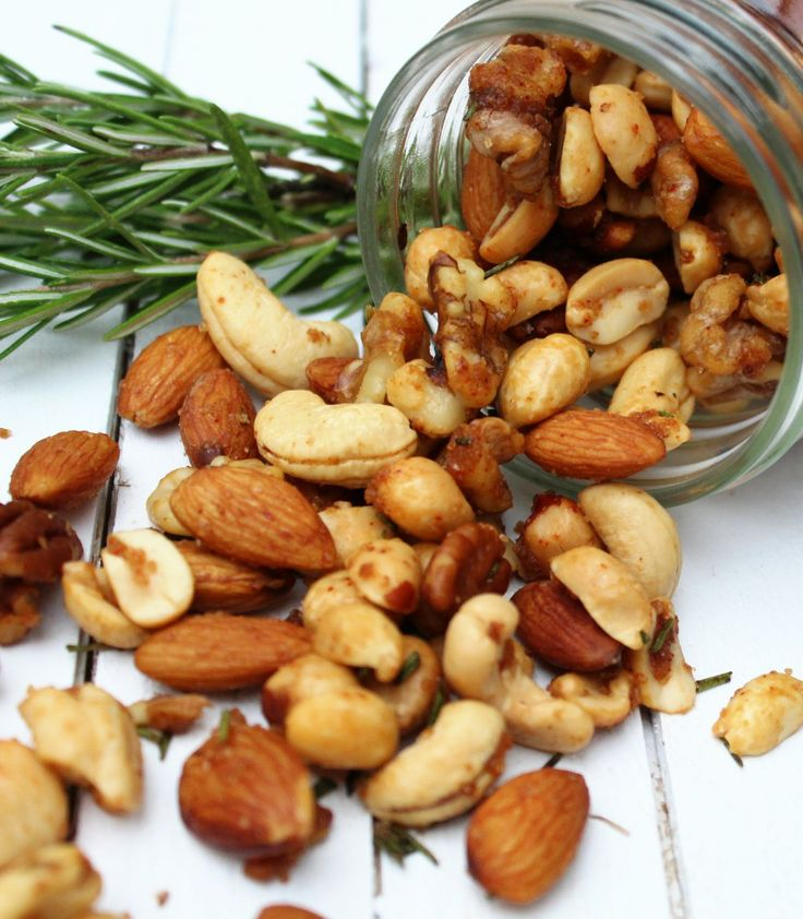 Brown Sugar and Rosemary Bar Nuts - The Salty Kitchen