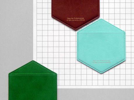 Hexagon Card Pocket Present & Correct #Stationery