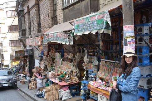 Witches market, La Paz, Bolivia