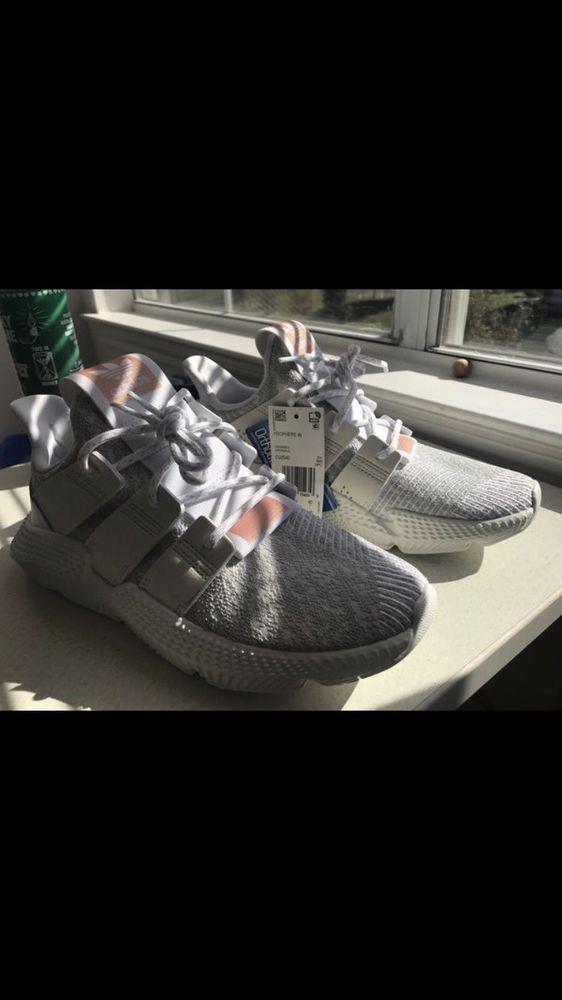 a5714c9b14d68 Adidas Prophere Sneakers - Women's 9 US White/Gray/Cream - EUC ...