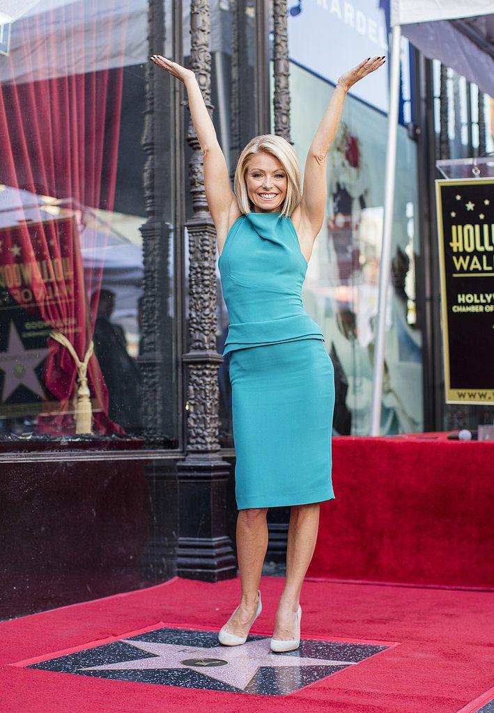 Kelly Ripa Hollywood Walk of Fame Pictures | POPSUGAR Celebrity