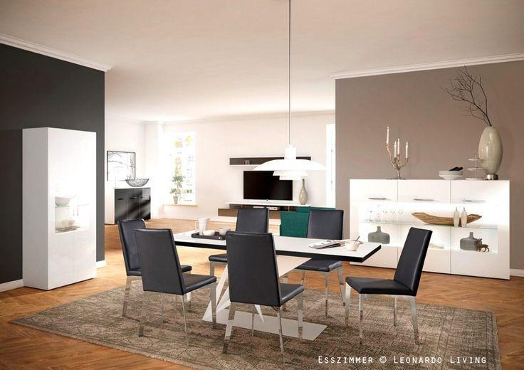 offene küche modern gestalten weiß Küche Möbel - Küchen - team 7 küchen abverkauf
