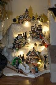 Resultado de imagen para villas navide as villas for Villas navidenas de porcelana