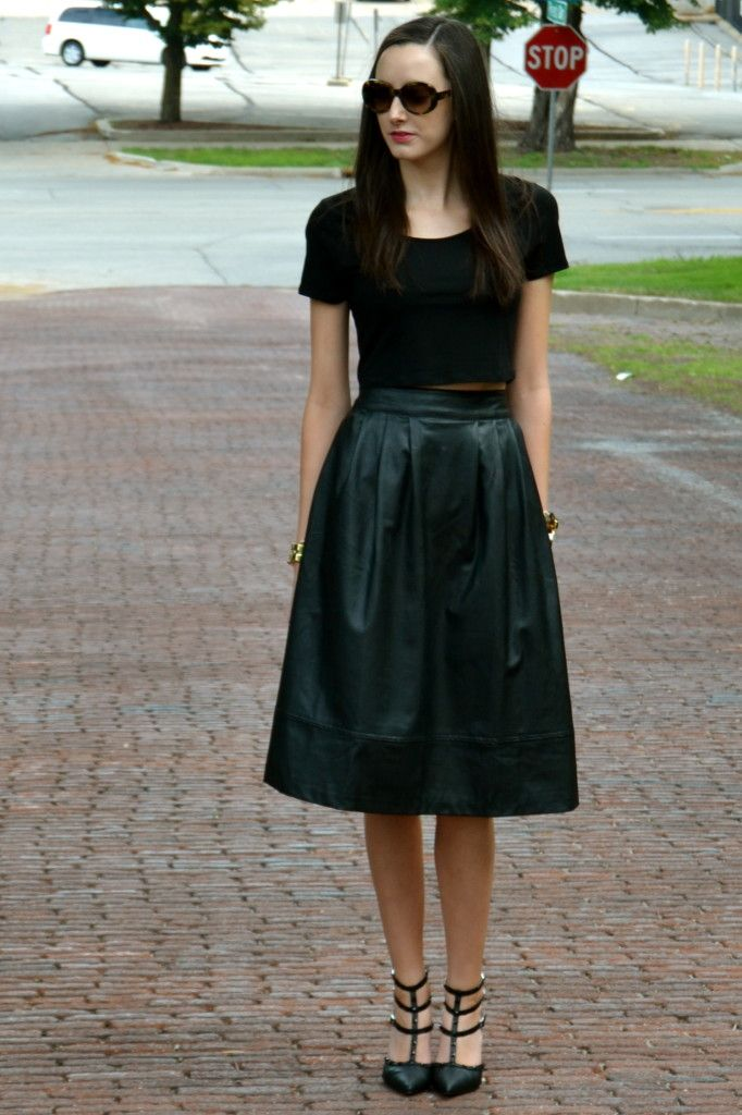 78 Best ideas about Long Leather Skirt on Pinterest - Winter ...