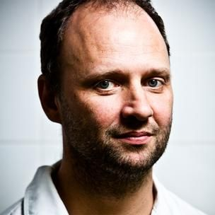 Simon Rogan - head chef at The French restaurant at the Midland Hotel, Manchester
