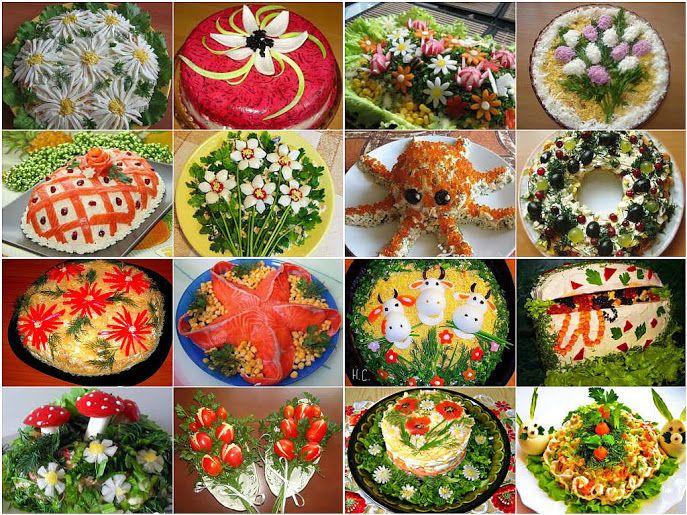 Подборка 10 самых вкусных салатов! Забираем, что бы не потерять!  1. Салат с…