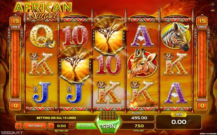 African Sunset - http://slot-machines-gratis.com/slot-machine-african-sunset-gratis-online/
