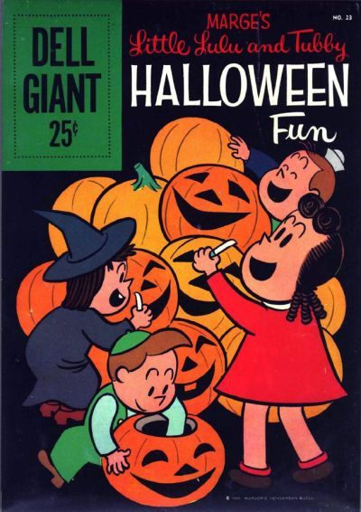 Dell Giant #23 this comic book features Little Lulu on the cover with ...