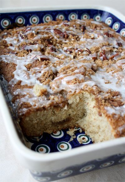 We had house guests this week and it was so nice to have this coffee cake ready to pull out of the refrigerator and bake in the morning! Overnight Coffee Cake Recipe adapted from Allrecipes Ingredients 3/4 cup butter, softened 1 cup sugar 2 eggs 2 cups all-purpose flour 1 teaspoon baking soda 1/2 teaspoon …