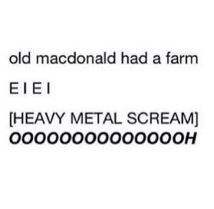 E I  E I (Andy Beirsack screamo) AAAAGGGGHHHHHHHHHHHHHHHHHH