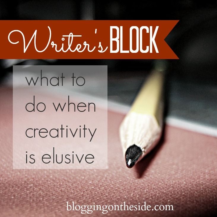 Writer's block is a condition, primarily associated with writing as a profession, in which an author loses the ability to produce new work. All writer's and more specifically bloggers have experienced this.
